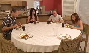 Casi James and India the height of the height of summer - cum for Dessert