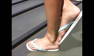 hot women In attractive Flip Flops 1
