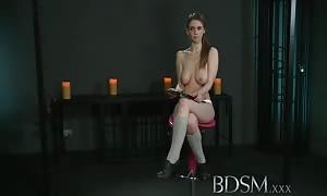 bondage XXX Feisty sex-slave females be taught the rock hard way