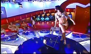 Eva Marie from the WWE  easy Stripper Dance