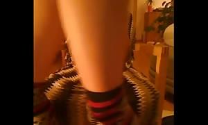 ginger teen internet web-cam servant part 3