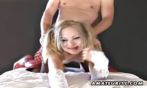 A young blond