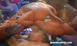 Astonishing buzzed ebony is being pounded by a beefy stripper
