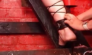 newbie bondage discipline and sado masochism with two horny and filthy females