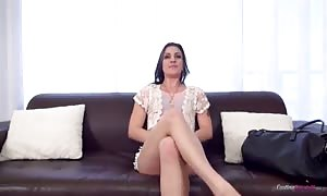 Rachael Madori. Rachael - try-out couch X