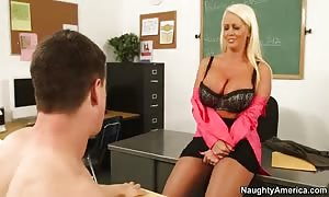 Alura Jenson & Bruce Venture in My first Sex instructor