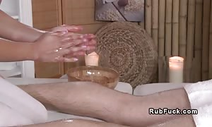greased lovers in body rub apartment oiled euro