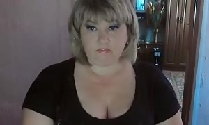 truly fat blonde is acting hot and deep throat her finger