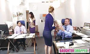 Gigi Flamez, Katalina Mills Bring Your Daughter To Work Day