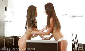 Nubile videos - lezzy lust brings intense climaxes