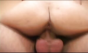 young dark-haired having sex with her boyfriend at home