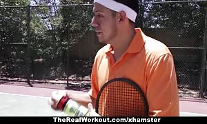 TheRealWorkout - Keisha grey rammed After Playing Tennis