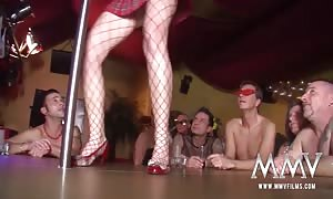 MMV videos German old and youngster lezzy Striptease Parade