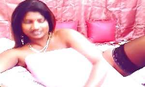 buxom Indian girl with gigantic dark areolas