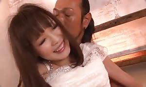 really extraordinary japanese model Momoka Rin in horny JAV uncensored face screw clamp