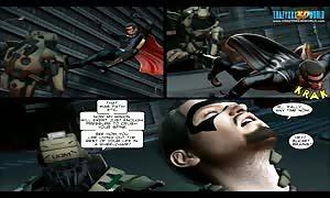 3D Comic: The Cockroach. scene eight