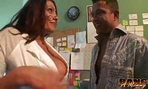elegant captivating mom is loving