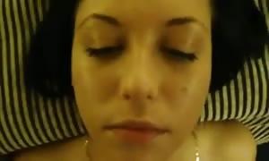 Mega cum-shot facial