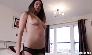 all organic hotty is stripping her attractive undies