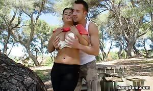 Jasmine black in Latin porno In Public