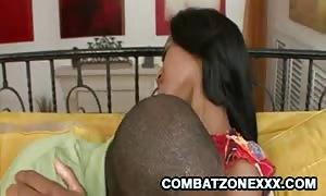 Jade Nacole - black dad On ebony teen