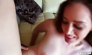 Orgasmic action with a big-breasted all-natural young person