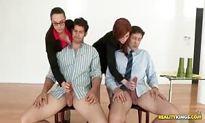 naughty prostitutes doing unusual things with thse fellows