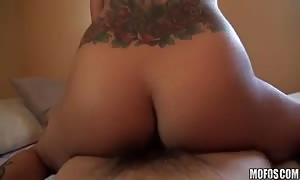 Watch great sex action with a shocking former gf girlfriend with faux tits