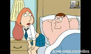Family man manga - dirty Lois wants ass sex