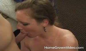 turned on hunting blond