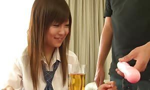 exceptional japanese avenue walker Miku Airi in most competitive JAV uncensored youngster fasten