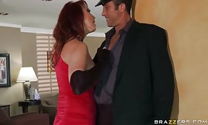 huge titted widow Nicki Hunter wishes a little