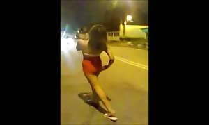 Brazilian youngster prove Her Body In The avenue