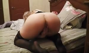Curvy blond