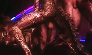 Khajiit and Argonian orgy two