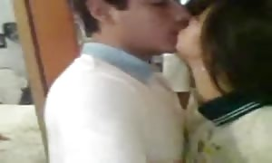 Indian pupil lovers deep throat and pounding