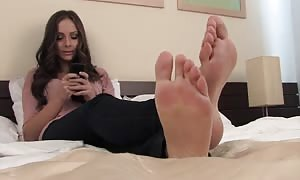 turned on feet model Alexia five