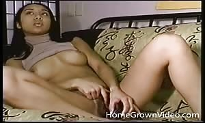 hairy twat lady eats prick and balls