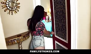FamilyStrokes - Sisters taunt