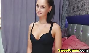beautiful lil hotty Having show on web cam