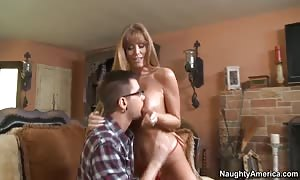 big titted mother I would choose to get it on with Darla Crane nails with her son's absolute most competitive friend