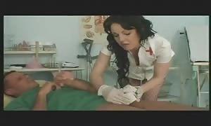 teen turned on registered nurse assisting pantient
