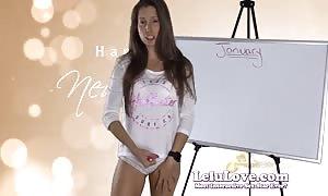 Lelu Love-January 2015 jizz Schedule