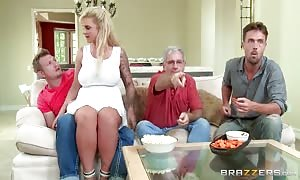 step parent takes some teen shaft  - Brazzers