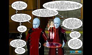 3D Comic: Rebellion. scene 5