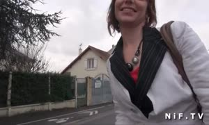 brand new comer french teen Alyzee gets analized