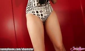 SunnyLeone FAN's personal striptease from my webcam