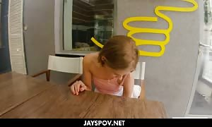 JAY'S POV - JAYROCK GOES TO BUDAPEST - TIFFANY TATUM cream pie