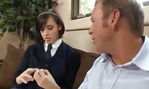 Schoolgirl we could him into her clean bald slit