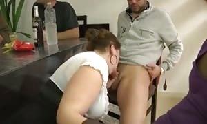big woman DP threesome